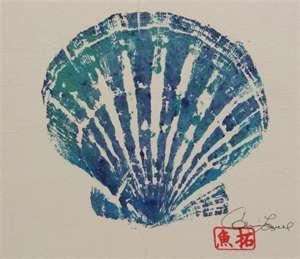 gyotaku shell