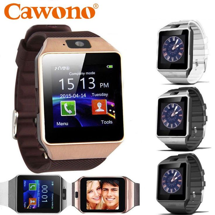 Cawono Bluetooth Smart Watch DZ09 Relojes Smartwatch Relogios TF SIM Camera for IOS iPhone Samsung Huawei Xiaomi Android Phone //Price: $15.93//     #Gadget
