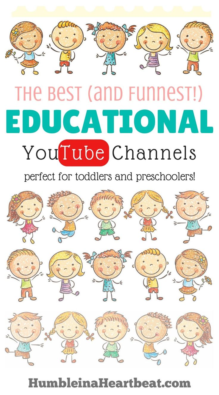 YouTube is brimming with kids shows! But, these ones are the most educational and fun, and you won't mind sitting and watching them with your kids.