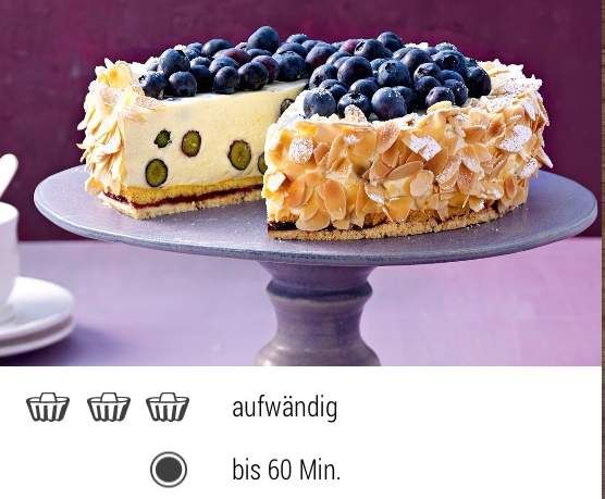 Heidelbeer-Vanillecreme-Torte (Dr.Oetker) by Anna-Freud on www.rezeptwelt.de