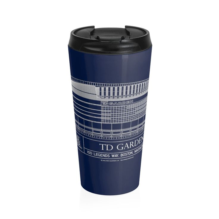 TD Garden Stainless Steel Travel Mug