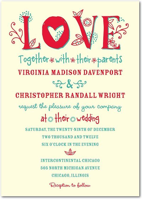 Love Blooms   Signature Ecru Wedding Invitations In Passion Or Nutmeg |  Jenny Romanski