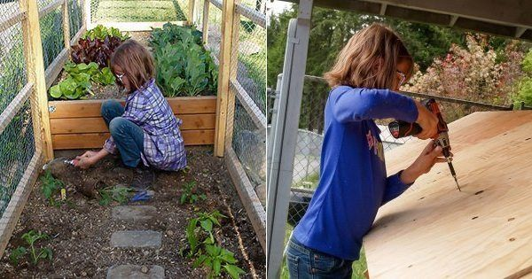 9 Year Old Girl Builds Shelters & Grows Food for the Homeless
