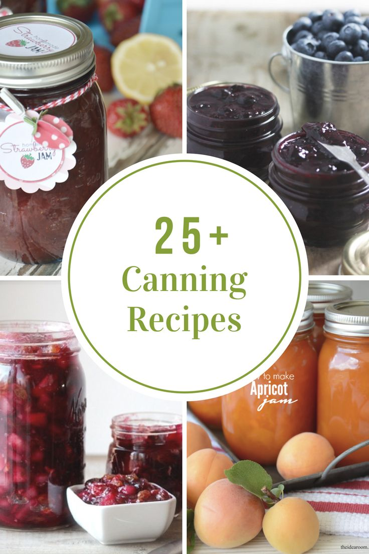 I have gathered some Canning Recipes of my own plus some additional ones from around the web to help inspire you to start canning all your hard work from your garden.