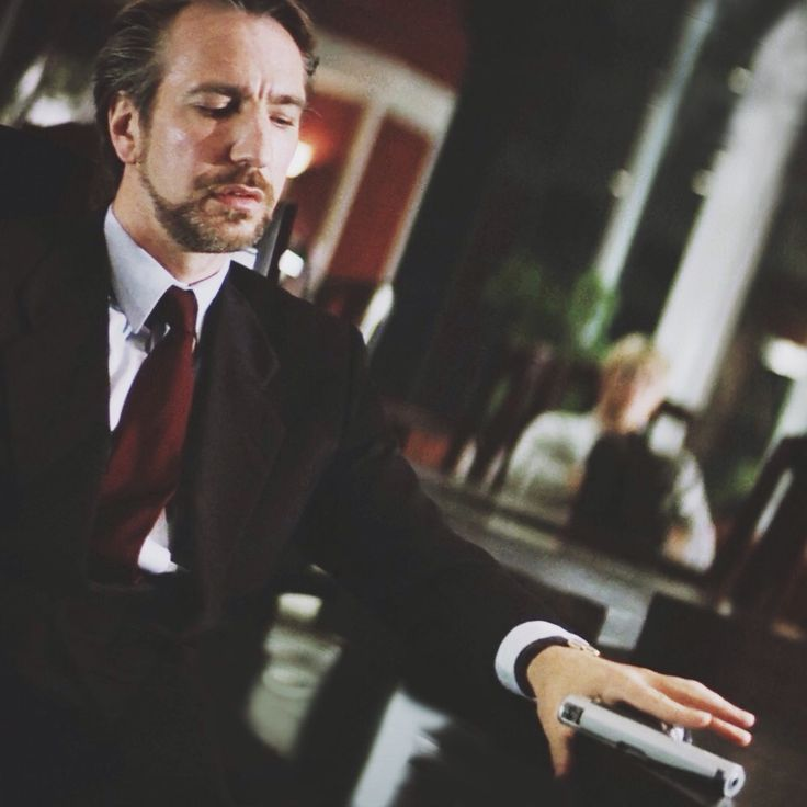 "1988 - Alan Rickman as Hans Gruber in ""Die Hard."" ... ""The code please ..."""