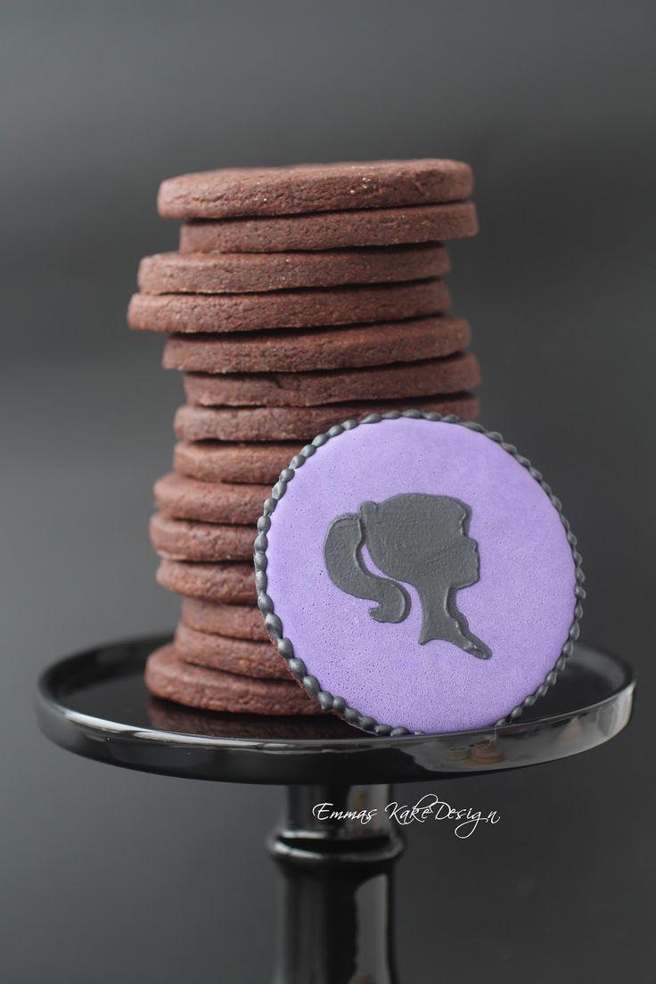 Emmas KakeDesign: Oppskrift på herlige sjokolade Sugar Cookies!