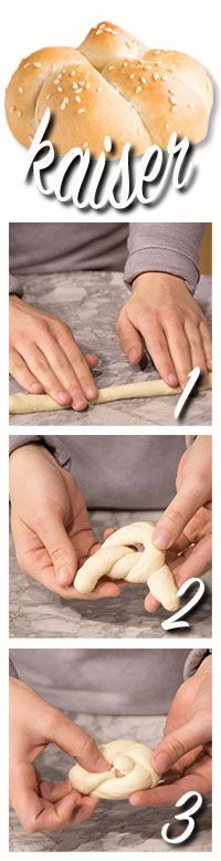 how to make kaiser rolls