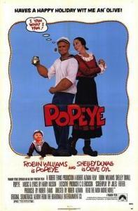 """large"": Film, Movie Posters, Robinwilliams, Popeye 1980, Favorite Movies, Robin Williams, 80 S Movies"