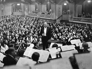 Bruno Walter y la Filarmónica de Berlin