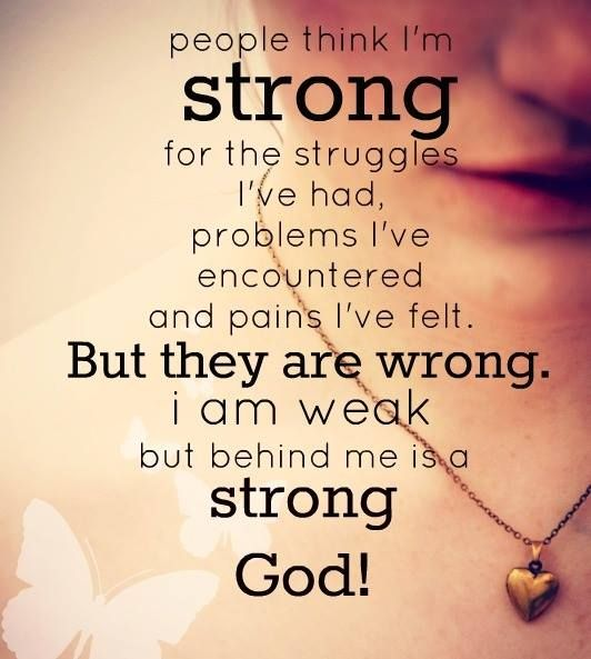 Exactly what I've been saying for the past 3 years!  God has me :)