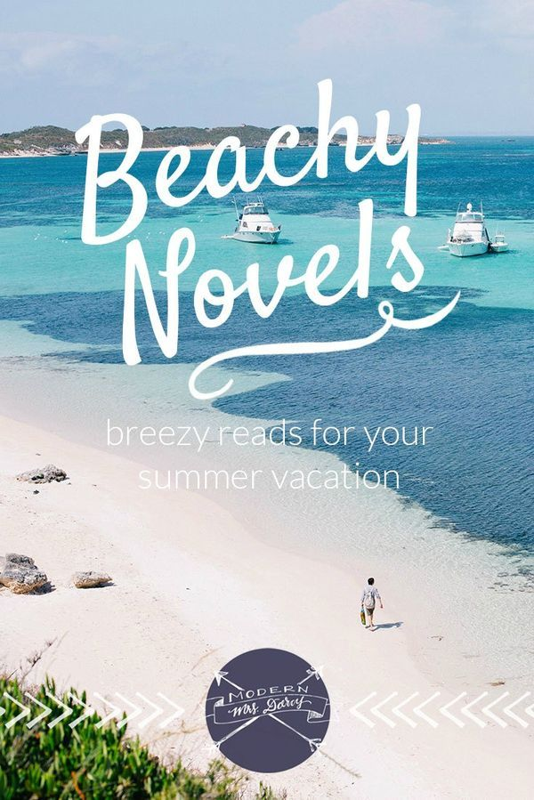 Beachy Novels: breezy reads for your summer vacation. Fast, fun, enjoyable books, perfect for the beach, the pool, or your own backyard.