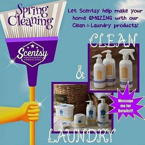 Time for that spring cleaning! #scentsy #cleaning #organizing