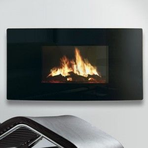 Celsi Puraflame Curved LCD Wall Mounted Electric Fire