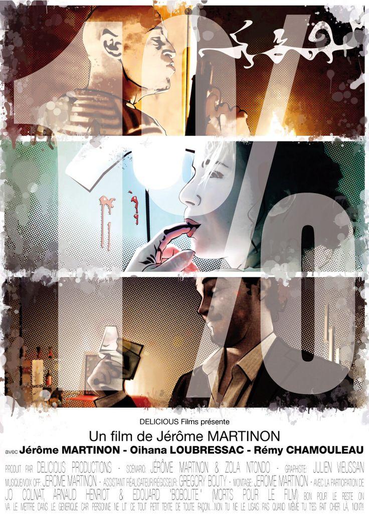 """Affiche court-métrage """" 1%"""" Delicious Productions"""