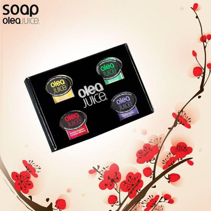 Κάνε δώρο σε σένα και στους γύρω σου το πιο όμορφο κουτί σαπουνιών της #oleajuicesoap