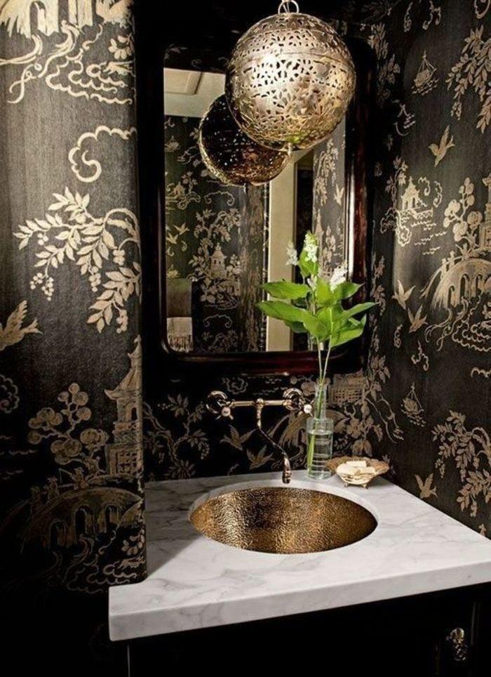Черные ванные комнаты: 15 примеров – Вдохновение