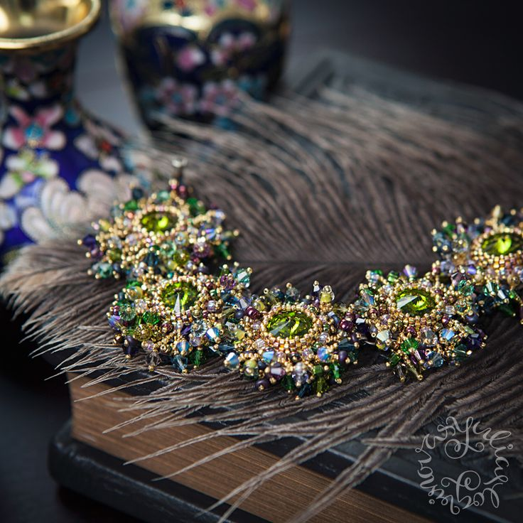 Jewellery by Yulia Logvinova.