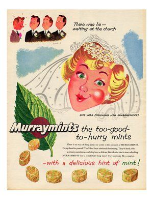 Vintage advertising: last June bride for this year