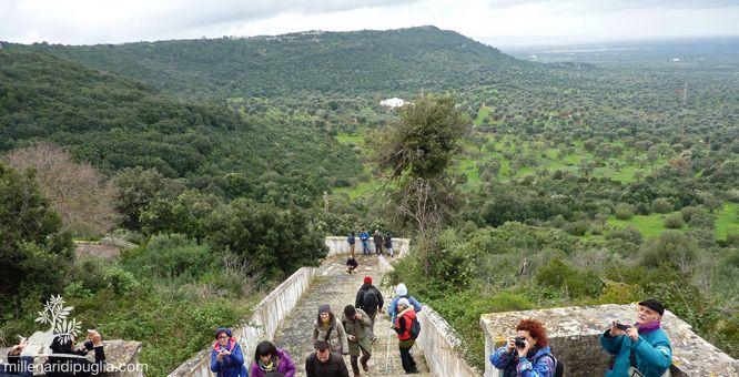 Trekking di pasquetta verso i tre santuari panoramici di Ostuni.