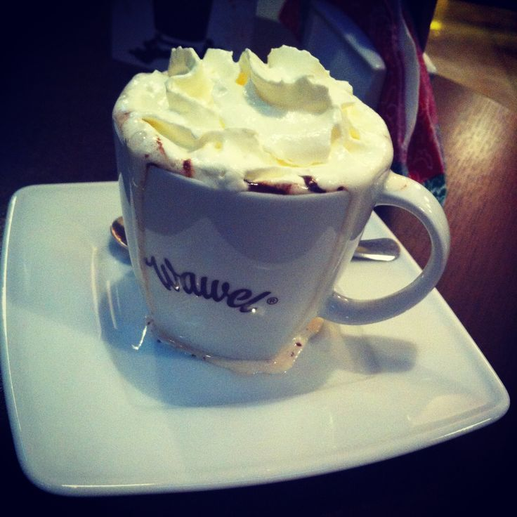 Hot chocolate <3 Yummy :3