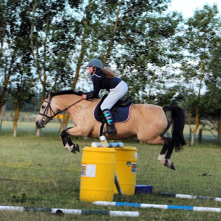Smush and me jumping 1m