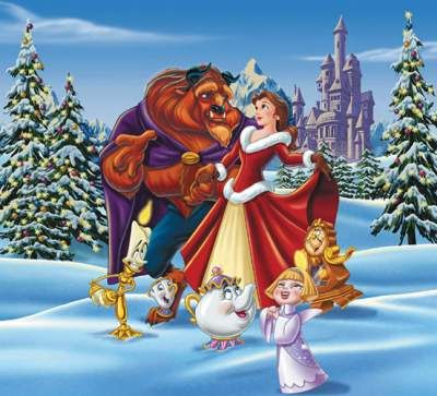 Beauty and the Beast Enchanted Christmas. I haven't even seen the original, haha. I nearly have this movie memorized!