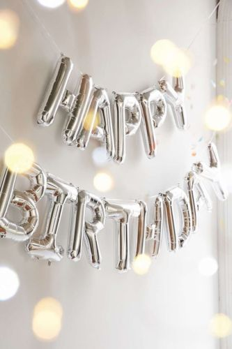 Self-Inflating-Happy-Birthday-Banner-Balloon-Bunting-Silver-10-inch-Letters-Foil