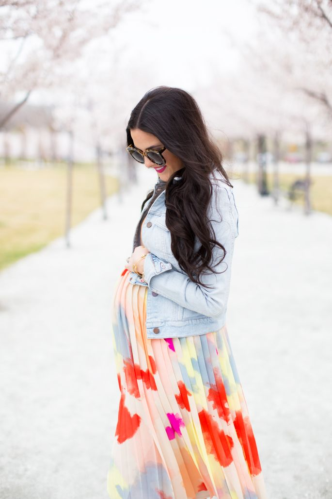 Spring Time Maternity Style...