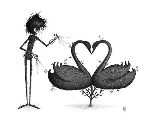 If they made an Edward Scissorhands cartoon, I'd totally watch it.
