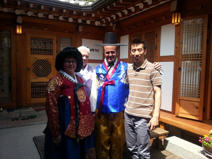 "Bukchon Hanok Village(Korean Traditional House Village) and trying wearing Korean traditional attire ""Hanbok"". Visit with us www.toursbyaaron.com"