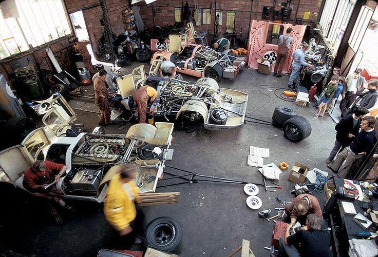 35 besten porsche garage le mans bilder auf pinterest ford gt porsche und bilder - Garage volkswagen le mans ...