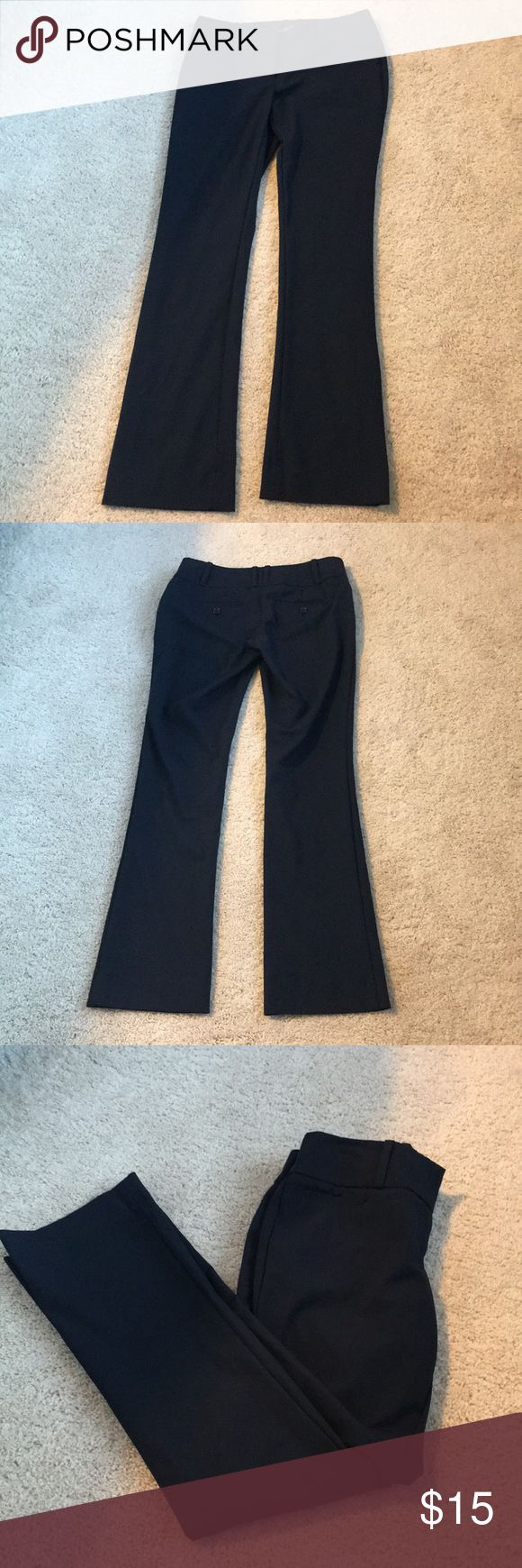 The limited free fit navy blue pants Navy blue dress pants size 00short The Limited Pants Boot Cut & Flare