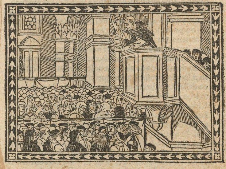 Houghton Inc 6316.10 (A) - Girolamo Savonarola, 1496 - cropped - Girolamo Savonarola - Wikipedia