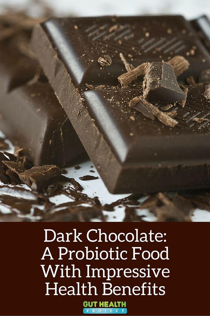 Dark Chocolate: Learn More About This Probiotic Food With Impressive Health Benefits | Gut Health | Digestion | Health Infographic | READ: http://guthealthproject.com/dark-chocolate-a-probiotic-food-with-impressive-health-benefits/
