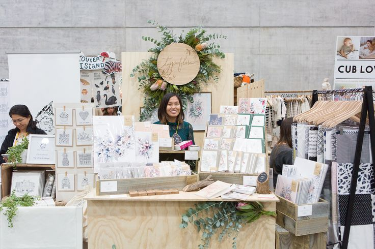 The Finders Keepers | Typoflora Stall photo by Mark Lobo at our Sydney AW17 Market