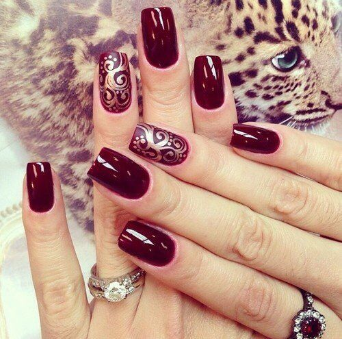 Nail Art #2835: magnetic designs for fascinating ladies. Take the one you love now!