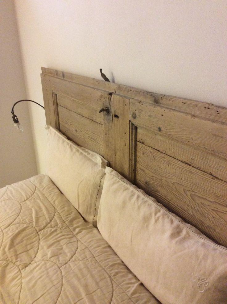 Come fare una testata del letto in legno design casa - Testiera letto legno ...
