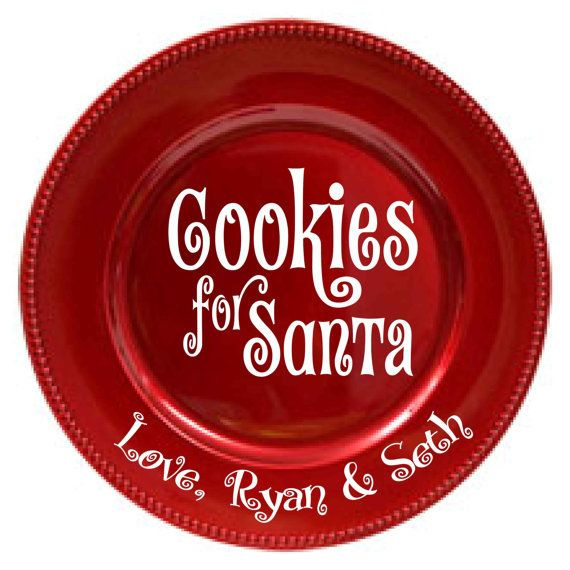 Hey, I found this really awesome Etsy listing at https://www.etsy.com/listing/167621970/diy-personalized-cookies-for-santa-plate