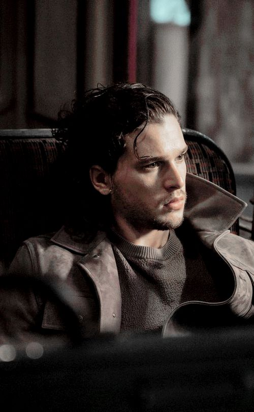 beautiful, cast, and kit harington image