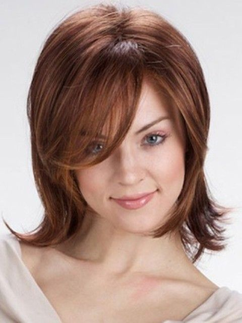 Fine Medium Layered  Hairstyles