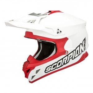 Scorpion Crosshelm VX-15 Evo Air White/Red