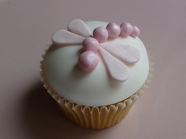 Dragonfly Cupcake