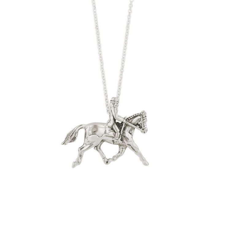 Caracol - Inspired Jewelry and Handbags - Sterling Silver Pendant Dressage Rider | Kabana Jewelry, $84.00 (http://www.caracolsilver.com/sterling-silver-pendant-dressage-rider-kabana-jewelry/)