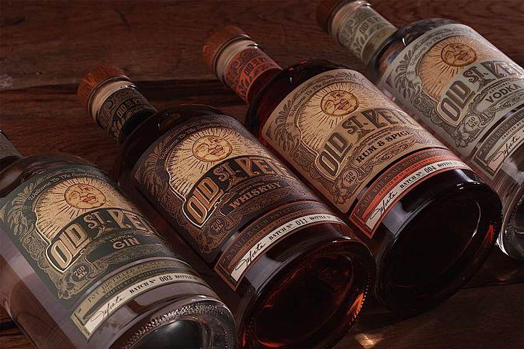 Packaging Design: Old St. Pete Craft Spirits