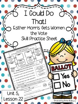 i could do that esther morris pdf