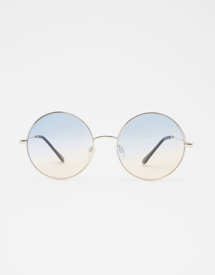 Lunettes de soleil rondes verres dégradés - Lunettes De Soleil - Accessoires - Femme - PULL&BEAR France