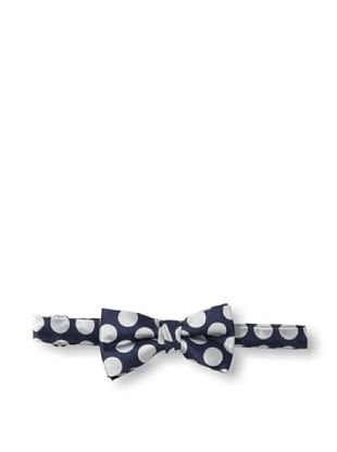 35% OFF Urban Sunday Kid's Navy/Silver Dot Bow Tie (Navy/White)