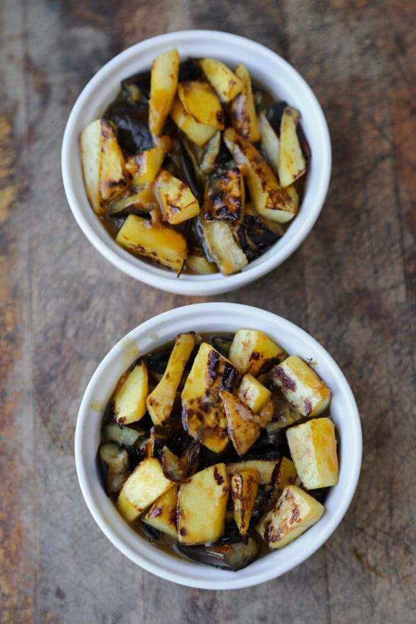 Get this sweet, savory, creamy AND healthy recipe for Eggplant and Kabocha Squash Miso Gratin from Pickled Plum - Find over 350 Japanese influenced recipes!