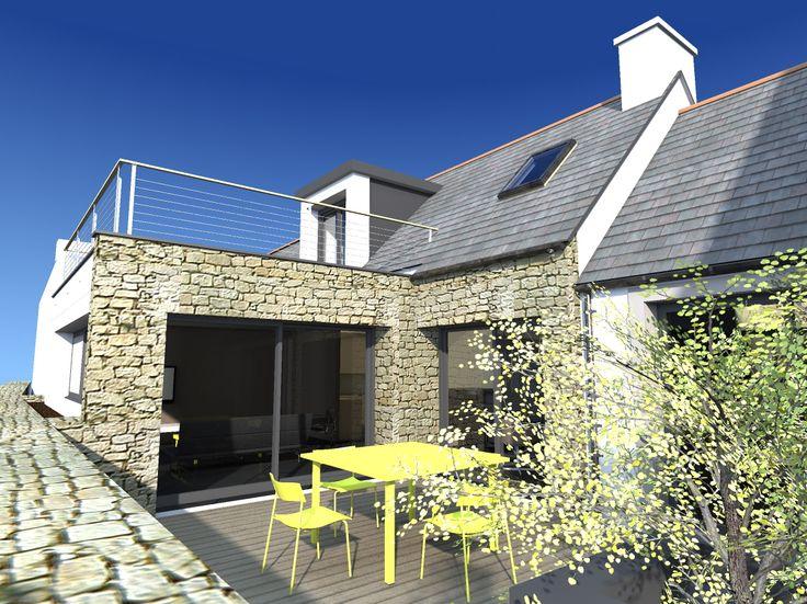 Les 15 meilleures images propos de r novations et for Architecture bretonne traditionnelle