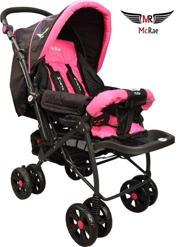 McRae MC 750 Comfort Çift Yönlü Lux Bebek Arabası - Pembe ::